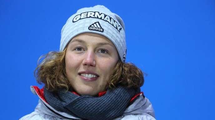 Laura Dahlmeier hat sich nach den ersten Rennen wieder erholt und kann in der Mixed-Staffel antreten.