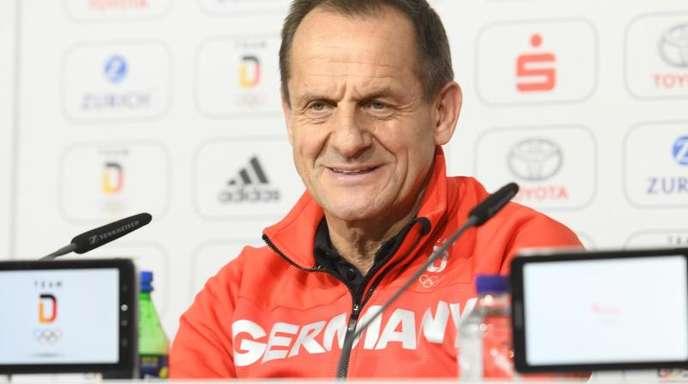 Für DOSB-Präsident Alfons Hörmann beginnt der Countdown für die kommenden Winterspiele.