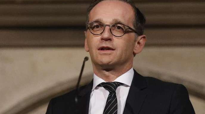 Heiko Maas stellte klar: «Ohne Russland wird man diesen Konflikt nicht lösen können.»