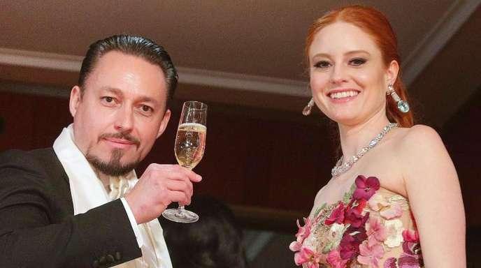 Klemens Hallmann hat Barbara Meier einen spektakulären Heiratsantrag gemacht.