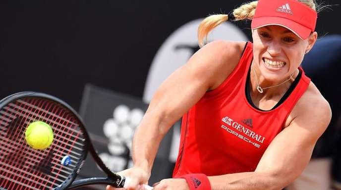 Angelique Kerber steht in Rom im Viertelfinale.