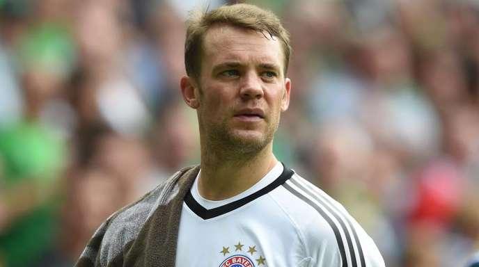 Manuel Neuer steht im Kader des FC Bayern München für das DFB-Pokalendspiel.