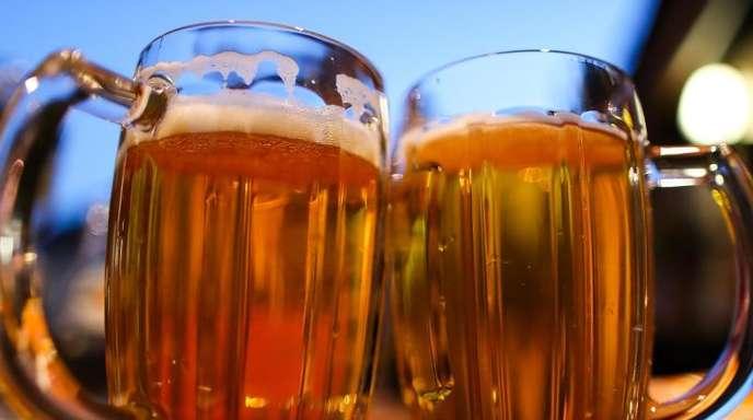 Die deutschen Bierbrauern können sich über ihre Absatzzahlen freuen.