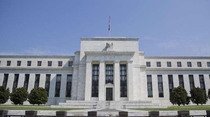 Die US-Notenbank Federal Reserve (Fed) in Washington.