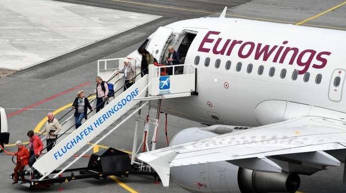 Eurowings war zuletzt in Folge der Air-Berlin-Pleite stark gewachsen und hat nach eigenen Angaben imSommerflugplan 185 Maschinen im Einsatz.