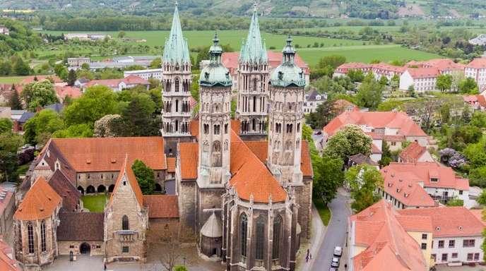Der Naumburger Dom in Sachsen-Anhalt ist für die Aufnahme in das Welterbe nominiert.