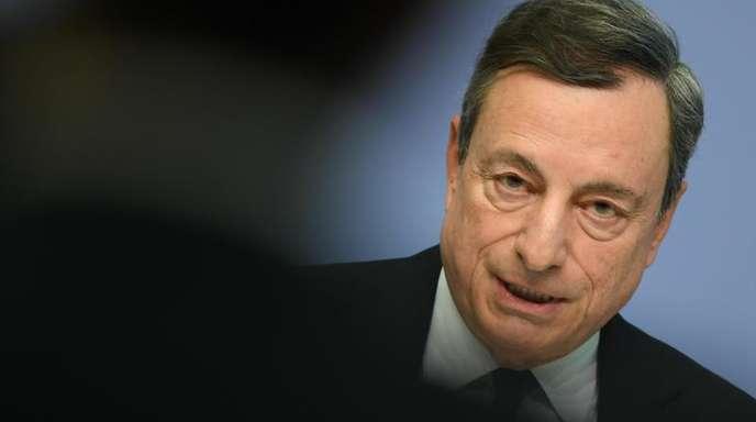 Mario Draghi, Präsident der Europäischen Zentralbank (EZB).