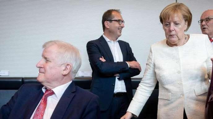 Das Verhältnis der beiden Alphatiere Angela Merkel und Horst Seehofer ist zerrüttet wie lange nicht.