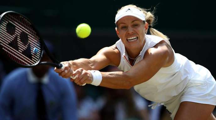 Angelique Kerber sich in Wimbledon ins Finale gespielt.