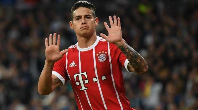 Der vom FC Bayern München ausgeliehene Kolumbianer James Rodriguez will zurück zu Real Madrid.
