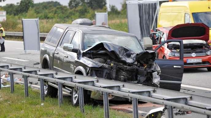 Auf der Autobahn A20 zwischen Lübeck und Rostock hat es einen schweren Verkehrsunfall gegeben.