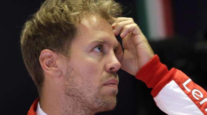 Sebastian Vettel hadert mit der fehlenden Stallregie bei Ferrari.
