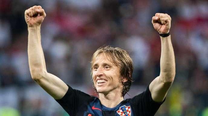 Vize-Weltmeister Luka Modric könnte zum Weltfußballer gewählt werden.