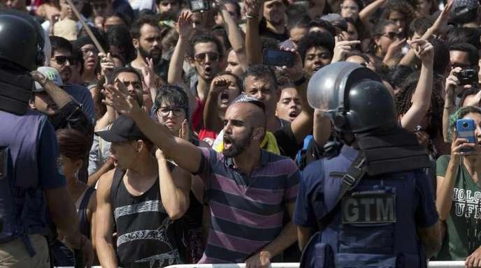Empörung in Rio de Janeiro nach dem Großbrand.