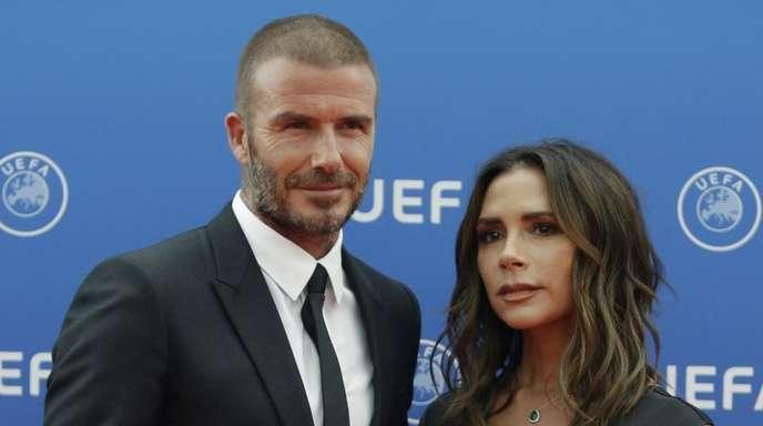 Gemeinsam stark:Victoria und David Beckham.