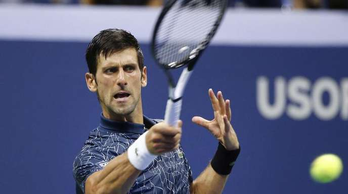 Ist in seinem Viertelfinale klarer Favorit: Novak Djokovic.