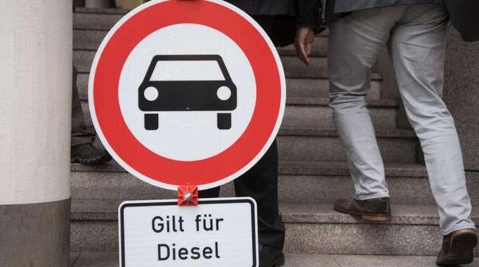 Kommt ein Diesel-Fahrverbot auch in Frankfurt?