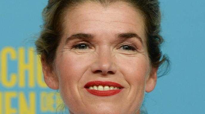 """Anke Engelke bei der Deutschlandpremiere des Films """"Das schönste Mädchen der Welt"""" in Berlin."""
