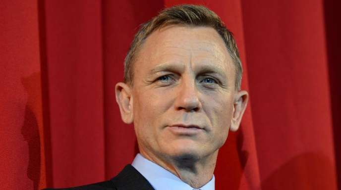 """Daniel Craig bei der Deutschlandpremiere des James Bond Films """"Spectre""""."""