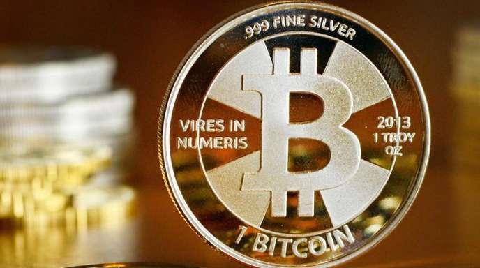 Der Bitcoin-Kurs ist gefallen.