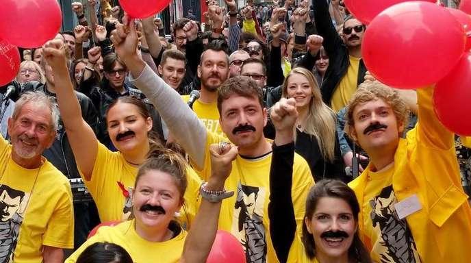 In den Herzen seiner Fans lebt Freddie Mercury weiter.