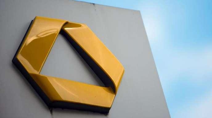 Das Logo der Commerzbank AG. Das Finanzinstitut muss seinenPlatz imDax räumen.