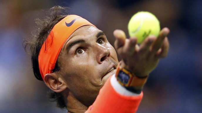 Möchte seinen Titel bei den USOpen verteidigen:Rafael Nadal.