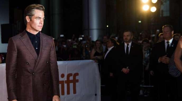 Chris Pine stellt in Toronto seinen neuen Film «Outlaw King» vor.