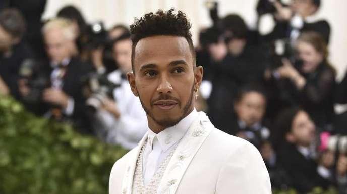 Mode spielt im Leben von Lewis Hamilton eine große Rolle.
