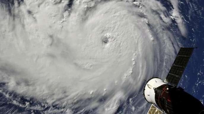 Hurrikan «Florence» auf dem Weg zur US-Ostküste.