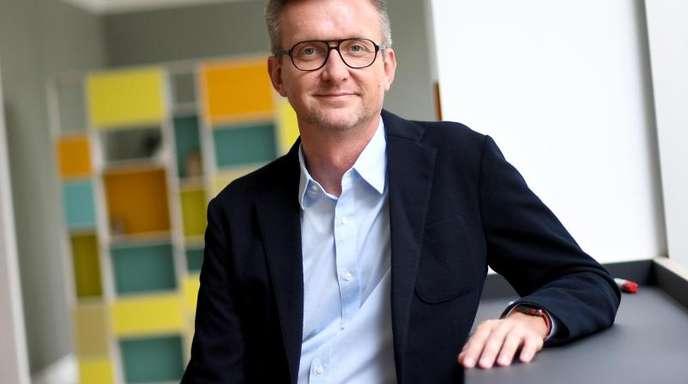 Jochen Wegner, Chefredakteur von «Zeit Online», hofft auf die Gespräche zwischen politisch Andersdenkenden.
