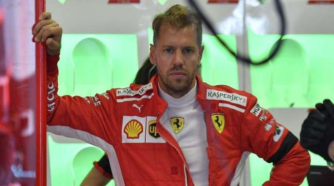 Rekordsieger des Nachtrennen in Singapur: Ferrari-Pilot Sebastian Vettel.