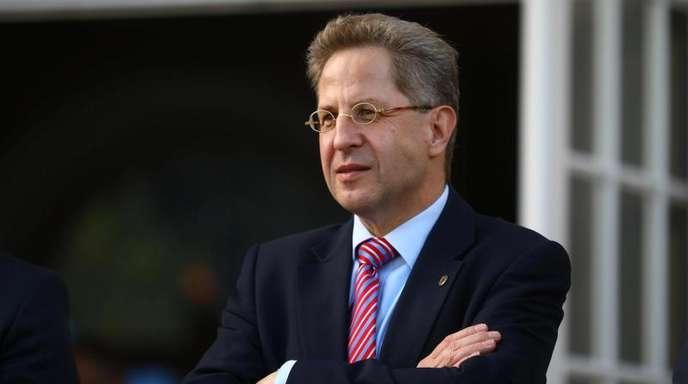 Hans-Georg Maaßen, Präsident des Verfassungsschutzes, nimmt an einem Treffen der Sicherheitsbehörden teil.