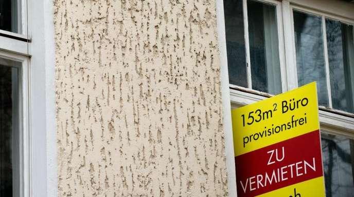Leerstehende Gewerbeimmobilie in Berlin: Der Negativtrend bei Firmengründungen hält schon seit längerem an.