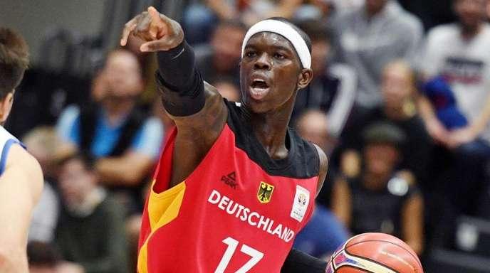 Dennis Schröder ist unumstrittener Anführer in der deutschen Basketball-Nationalmannschaft.