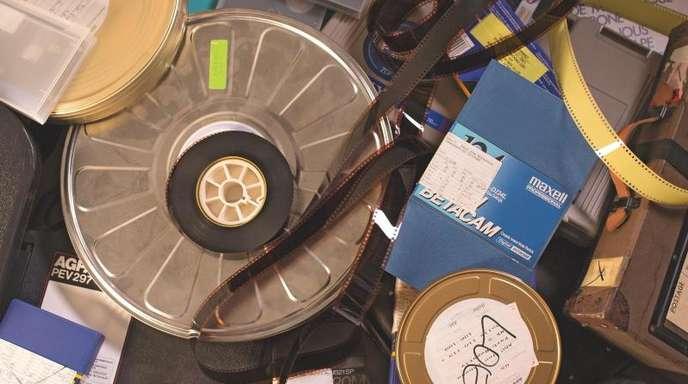 Mit enormem Aufwand wird das komplette analoge Archiv des ZDF digitalisiert.