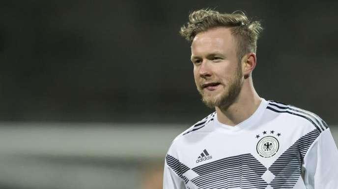 Traf in Dublin dreimal für die deutsche U21: Cedric Teuchert.
