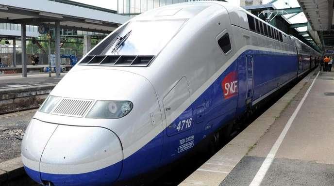 Für TGV-Hochgeschwindigkeitszüge plant die SNCF zunächst nur, Beschleunigungs- und Bremsvorgänge zu automatisieren.