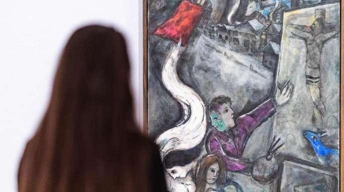 Marc Chagalls «Die Seele der Stadt».