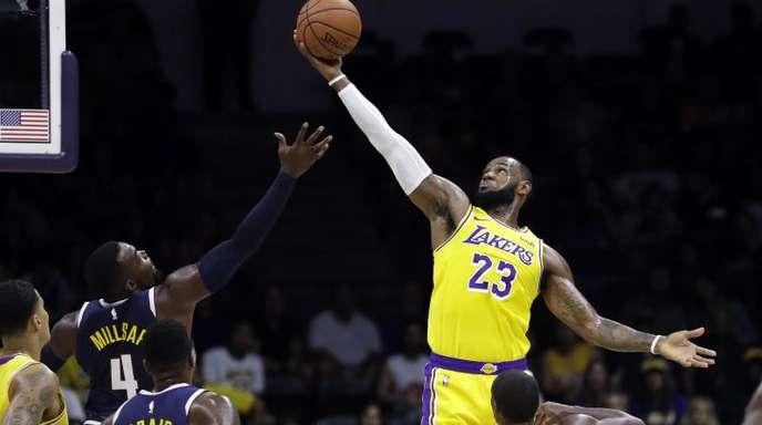 LeBron James will die Traditions-Franchise aus LA wieder nach oben führen.