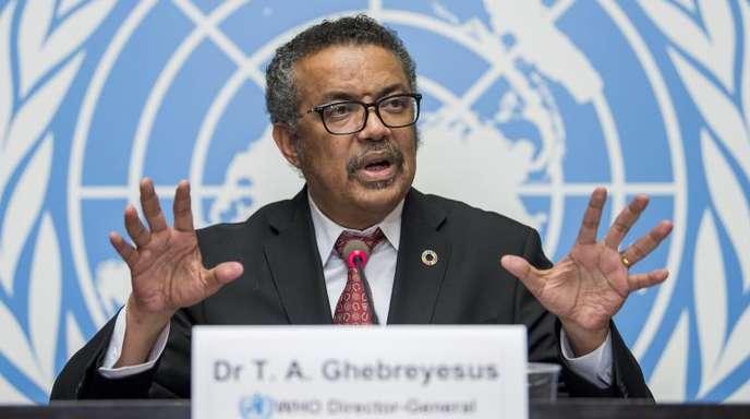 Tedros Adhanom Ghebreyesus, Generaldirektor der Weltgesundheitsorganisation (WHO), hat den Krisenausschuss wegen der zahlreichen Ebola-Fälle im Kongo einberufen.