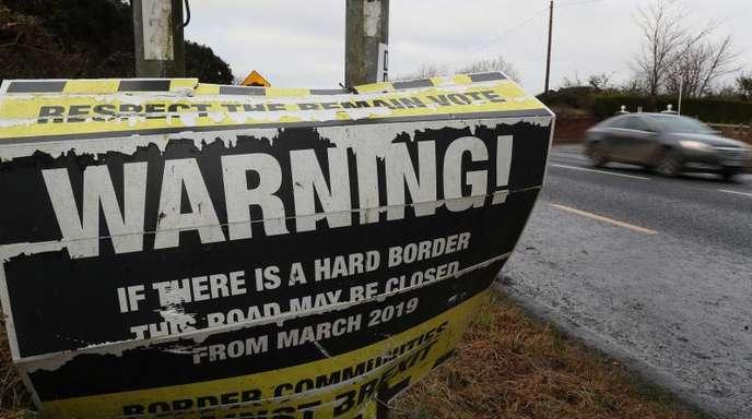 Das Bündnis «Grenz-Gemeinden gegen den Brexit» warnt vor einer möglichen Schließung der N53, einer Verbindungsstraße zwischen der Republik Irland und Nordirland.
