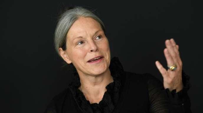 Die neue documenta-Geschäftsführerin Sabine Schormann spricht während ihres ersten öffentlichen Auftritts.