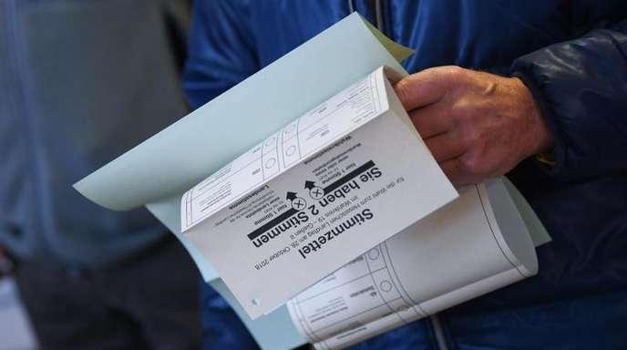 In Frankfurter Wahlbezirken hatte bei der hessischen Landtagswahl teils erhebliche Pannen mit falsch übermittelten Werten gegeben.