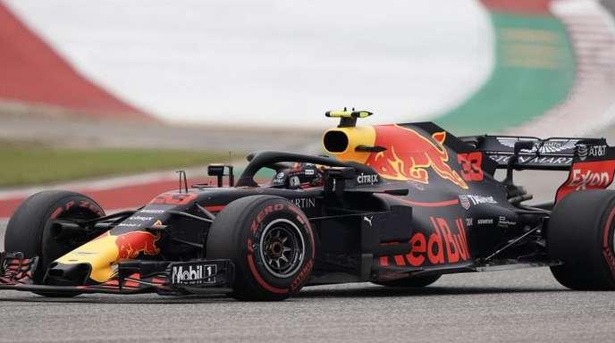 Max Verstappen fuhr im Auftakttraining zum Großen Preis von Brasilien Bestzeit.