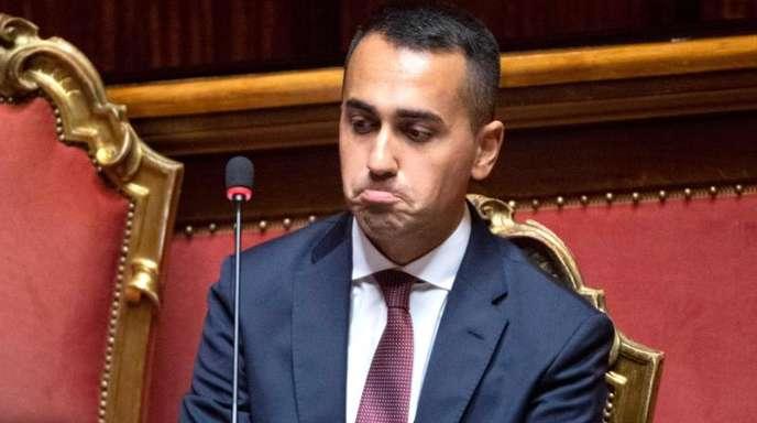 Unbeeindruckt von der EU: Italiens stellvertretender Ministerpräsident Luigi Di Maio.