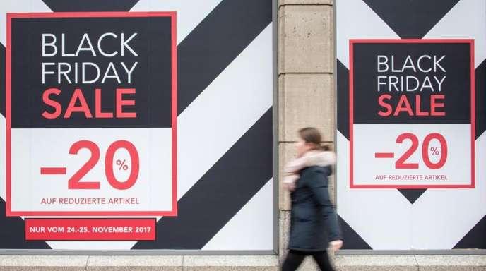 «Aktionstage wie der Black Friday oder der Cyber Monday werden immer wichtiger für den Handel. Wir haben gesättigte Märkte in Deutschland. Da braucht man solche Anlässe, damit die Leute mehr kaufen», sagt Marketingexperte Martin Fassnacht.