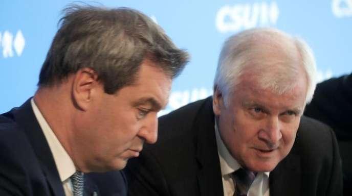 Markus Söder gilt auch als Favorit für die Seehofer-Nachfolge als CSU-Vorsitzender.