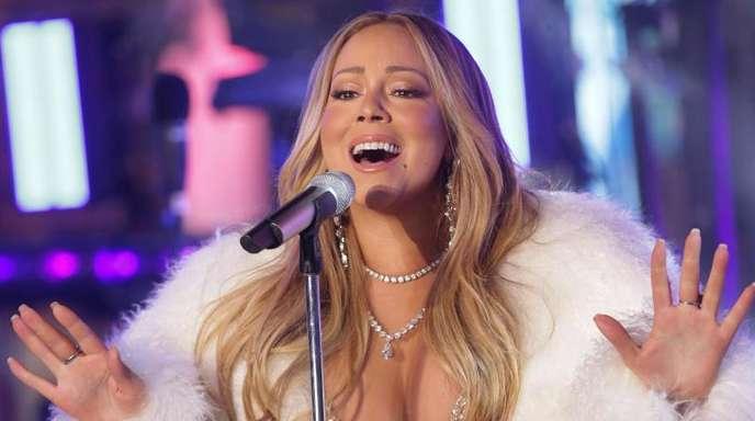 Mariah Carey rodelt gerne.