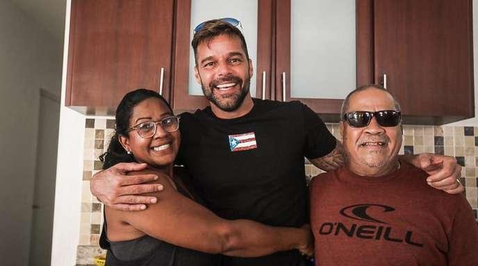 Ricky Martin gibt vielen Familien ein neues Zuhause.